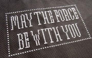 Finished Stitching