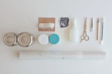Silhouette vases supplies