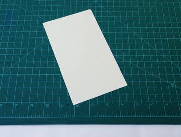 fold it in half width-wise