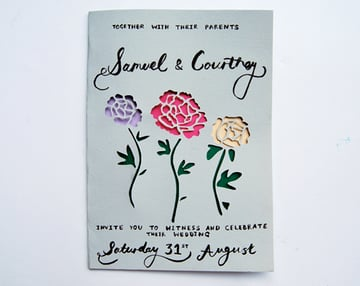 paper-cut-invite-complete-calligraphy