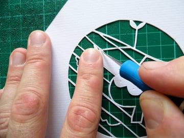 papercut bauble final cuts