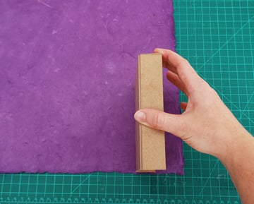 measure the thickness of the cover strip