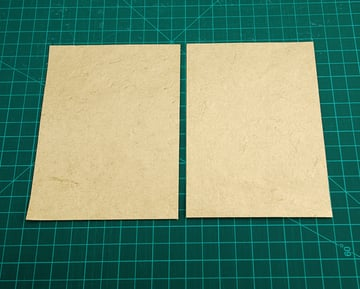 Cut out the tray liners