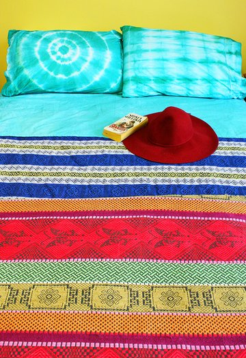 Revamp your bed linen with tie dye