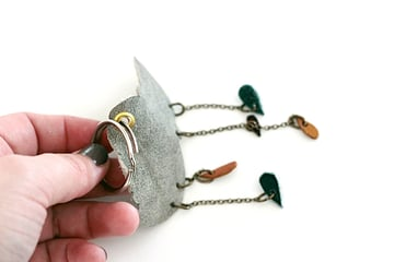 21-key ring-pass key ring