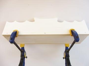 Boat Shelf Back Holes