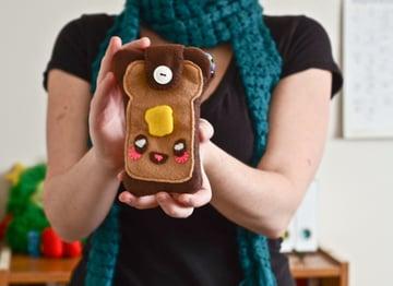 Toast phone cozy tutorial