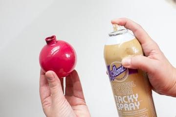 Spray ornament