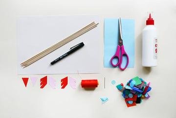 Supplies for Sweet Valentine Sachets by Kitiya Palaskas on Crafttuts+
