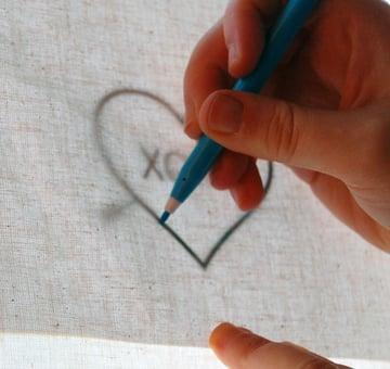 Trace Pattern Onto Fabric