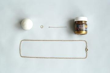 Horn Pendant materials