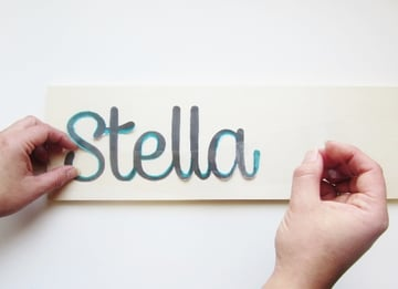 Wooden Word Tutorial 6a