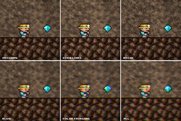 CRT Screen Effects