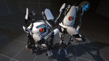 """Portal 2 featured a co-op multiplayer story mode that was entirely different from the """"main"""" single-player mode."""