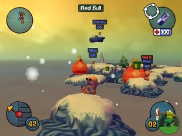 Worms wasn't able to escape its delightful 2D heritage