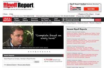Ripoff Report Exposing fraudulent pixel artists since 1998