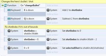 chapter 2 - function change bullet