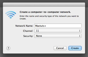 Computer-to-Computer Network Prompt