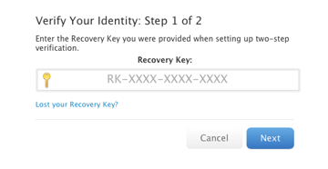 MApID-Recovery-Key