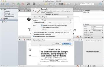 Scrivener Compile