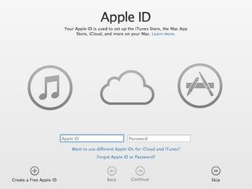Creating an Apple ID on your Mac