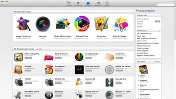 Once in a category, you'll then be able to see which are popular apps and browse all the available apps within