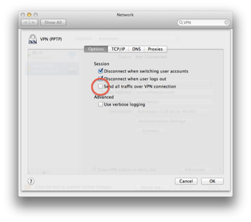Go back in System Preferences and select Advanced