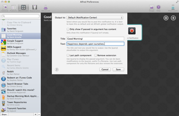 Completed Notification Modal Window