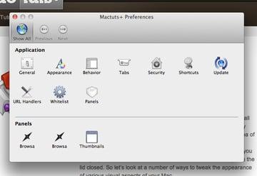 Mactuts+ Application Preferences