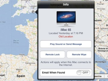 Locating your Mac with Apple's Find My Mac