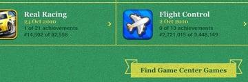 Find Game Center games