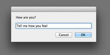 Receiving Text Input From a User