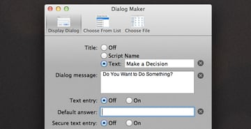 Dialog Maker