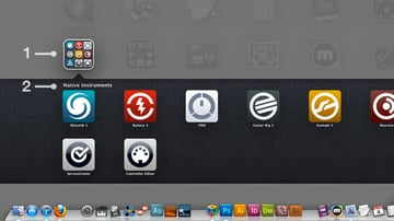 Clicking An App Folder Will Display The Contained Apps