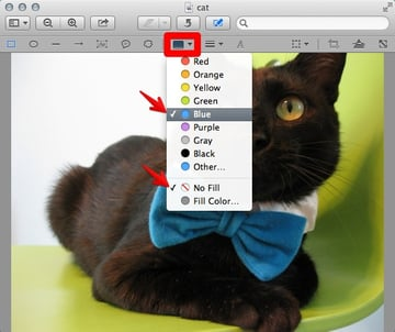 Change your objects line and fill color