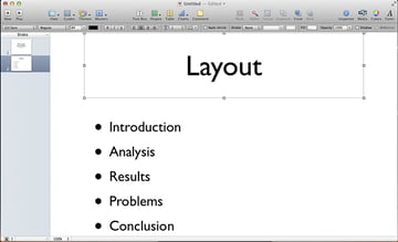 Select the object in your presentation that youd like to animate