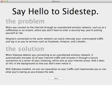 Sidestep Setup Intro