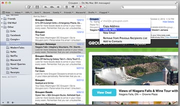 Apple Mail is a great replacement for Windows Live Mail and comes as standard with OS X.