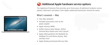 The AppleCare Protection Plan covers many aspect but doesnt mention screens