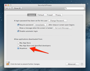 Gatekeeper has three different forms and you can choose between them in System Preferences.