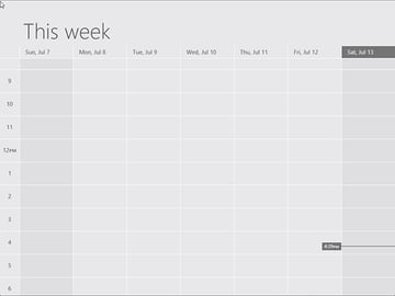 You'll see a big improvement in OS X's Calendar compared to its Windows counterpart.