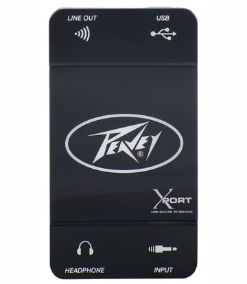 The Peavey XPort is a USB device designed specifically for electric guitars