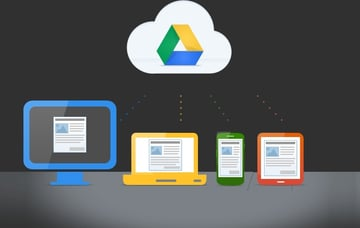 Google Drive provides access to your files using many different devices, including online editing.