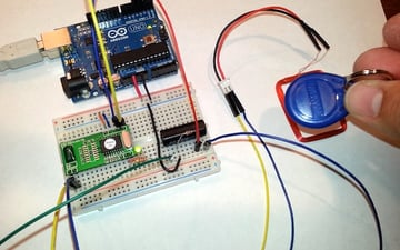 Testing the RFID loop