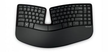 Microsofts ergonomic keyboards are highly praised but arent available in Mac configurations but that doesnt mean we cant use them