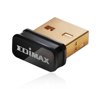The Edimax EW-7811Un is a popular USB wireless adapter that works well with Raspian.
