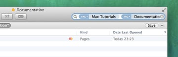 In Finder, you can build search criteria featuring multiple tags.