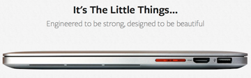 The Apple theme is very strong in this slogan.