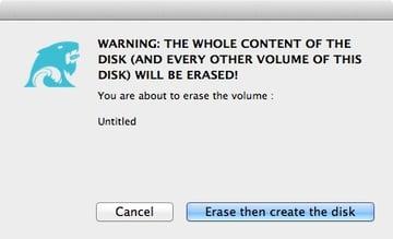 DiskMaker X process