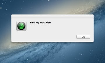 You can't customise the message, unfortunately, though the alert tone comes through loud and clear.